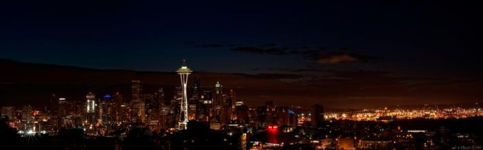 Super Sized Seattle by UrbanRural-Photo