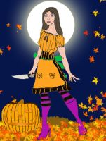 Alice In HalloweenTown by FullMoonMaster