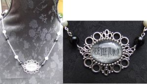 Beetlejuice Necklace by TheLovelyBoutique