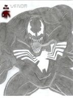 Venom sketch by FireheartTheInferno
