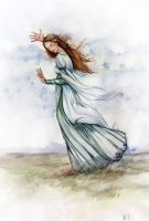 In love with the Wind by Vesea
