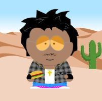 Myself in South Park by AssassinJ2