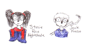 FREE REQUEST-Stevie Rae Nightshade and Jack Frost by EstrangedJunkie