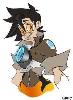 Tracer by papawaff