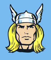 Thor head by Likodemus