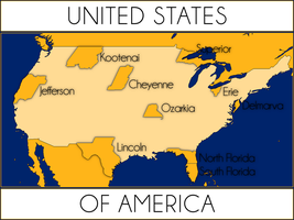 U.S.A. State Divisions Era by IntrepidTee