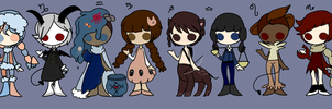 25 Point Horoscope Adopts by sugoi-spoon