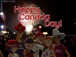 Happy Canada Day 2014---FIREWORKS! by daanton