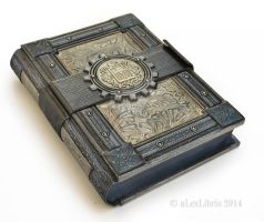 Large guest book (14 x 10 inches)... by alexlibris999