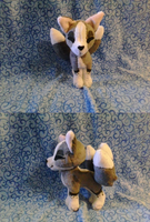 Kitsune plush for sale by Toshiko-paws