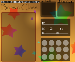 Color Heart Academy App - Brown Class by Snow-ish