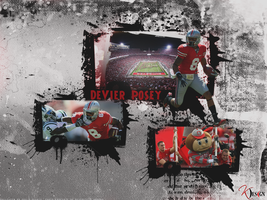 DeVier Posey Wallpaper by KevinsGraphics