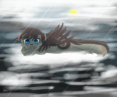 - even rainbows have their rainy days - by Darkaiya