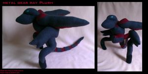 Metal Gear Ray Plushie by Belle43