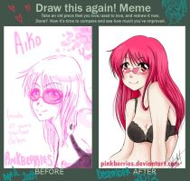 Draw this again meme contest lala by pinkberries