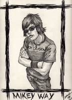 Mikey Way by SoftSpirit118