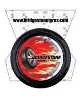 Bridgestone Hanging mobile by hamdankhatri