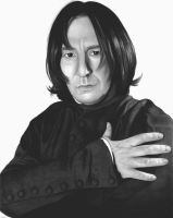 Severus Snape by michelleion