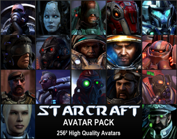 StarCraft Avatar Pack by Predator828