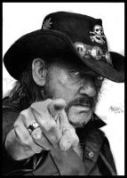 Lemmy Kilmister by Red-Szajn