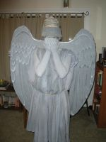 Weeping Angel Costume by blackava