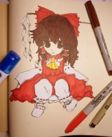 Reimu: Embodiment of Scarlet Devil Title Image by chakupuchi
