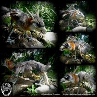 Wild Creature - Handmade OOAK Poseable Art Doll by SonsationalCreations