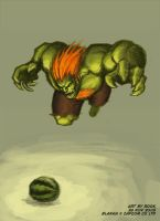 SFA3.FAC - Blanka by rook-over-here
