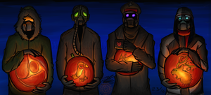 Happy Radioactive Halloween by Flekkr