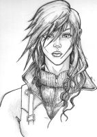 Lightning FFXIII by FireDestined4
