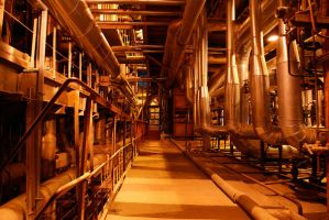 Industrial Plant 2157732 by StockProject1