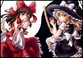 Touhou: Bad Apple by ButtercupBabyPPG