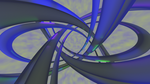 Abstract Blue and Yellow Torus Knot by gradyp