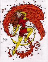 TheBFG121's Dark Phoenix by frostyrogue