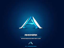 Amoniak Logo by KarimFakhoury