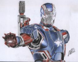 Iron Patriot by AndresBellorin-ART