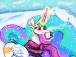 celestia winter (30minutechallenge) by luminaura