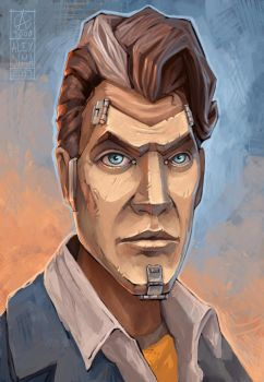 Borderlands - Handsome jack by Anarki3000