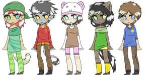 Point Adoptables : Adoptable batch 2 :CLOSED: by Muffycake