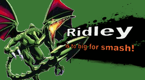 Ridley SSB4 Character Reveal (Joke) by sparioendernerd