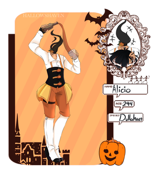 [HallowsHaven] Alicio by LittleTwistedBunny