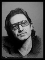 Bono - U2 by pablorenauld