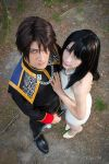 Rinoa and Squall by Lilitherz