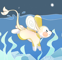 Goldfish mouse by Golditales