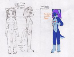 Celestina Redesigned by Doom-the-wolf