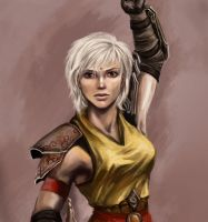 DIABLO III Female Monk by DemiSir