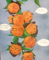 Orange Jews by beckuh