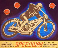 speedway by gibsart