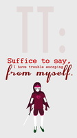 Suffice To Say by mysticfeline7
