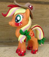 Commission-MLP Figure, Rainbow Power AJ by LostInTheTrees
